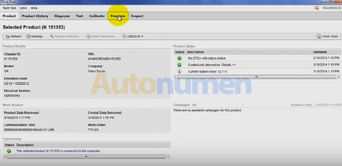 Volvo Tech Tool 2.04.87 download, Win 7 install, car list, review-5